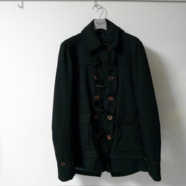 COMME des GARCONS HOMME PLUS - 2009-2010 AW エステル縮絨 ダッフルPコート
