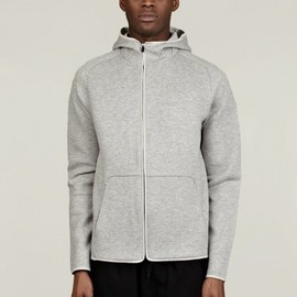 Nike Sportswear - Lightweight Air Fleece Zip Hoodie - Grey
