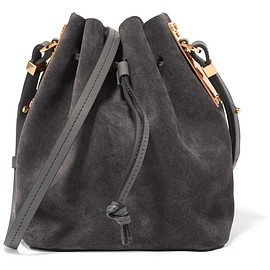 Sophie Hulme - Nelson small suede bucket bag