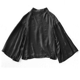 TOGA PULLA - Satin Shirts (black)
