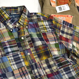 Ralph Lauren - S/S Patchwork Check B.D. Shirt