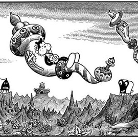 jim woodring - FRANK