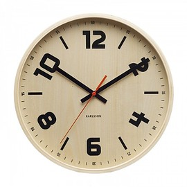 Karlsson - Wooden Dutch Wall Clock