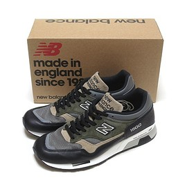 New Balance - NEW BALANCE M1500FDS 30th ANNIVERSARY BLACK/GREY MADE IN ENGLAND ( ニューバランス M1500 30周年 ブラック レザー UK製 )