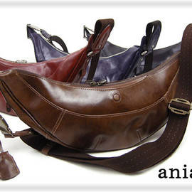 Aniary - LEATHER SHOULDER BAG