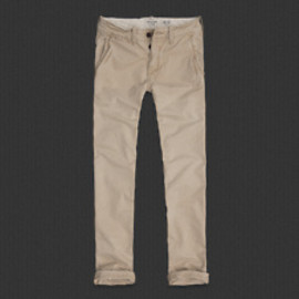 Abercrombie & Fitch - Mens A&F Slim Straight Chinos