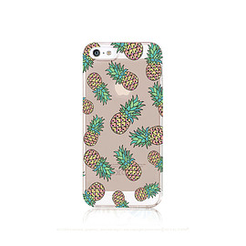 casesbycsera - iPhone 5 Case Clear Pineapple iPhone 6 Case iPhone 5 Case Clear Pineapple