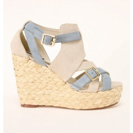 alabama - Cowsuede WEDGE