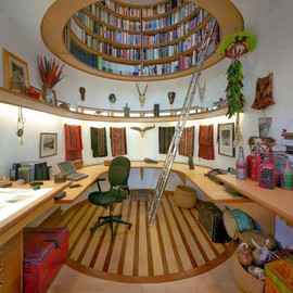 I must post again and again this stunning home library.