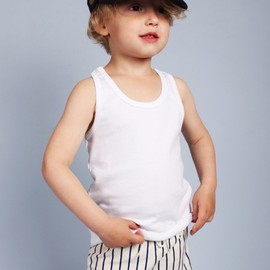 mini rodini - STRIPE SWIM PANTS