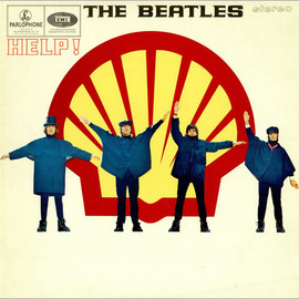 The Beatles - Help! - Shell Cover - Sleeve Sweden
