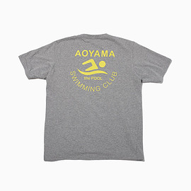 "the POOL aoyama - ""CMYK"" SWIMMING TEE"