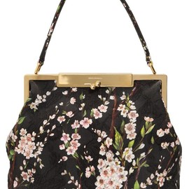 DOLCE&GABBANA - SARA BROCADED COTTON BAG