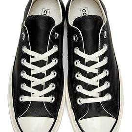CONVERSE - CT70 '70 Chuck Taylor OX Leather Black