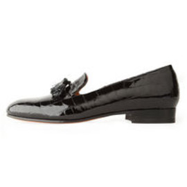 Dieppa Restrepo - Gaston Patent Croc Slip-On