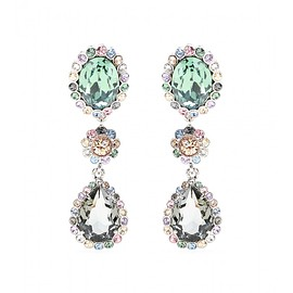 miu miu - Clip-on crystal earrings