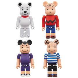 MEDICOM TOY - BE@RBRICK SNOOPY / CHARLIE BROWN / LUCY / LINUS