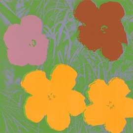 Andy Warhol, MoMA - Untitled from Flowers
