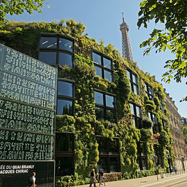 Paris, France - Musée du quai Branly