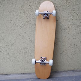 INDEPENDENT - BLANK CRUISER SKATABOARD COMPLETE -INDEPENDENT TRACK,BONES WHEEL-