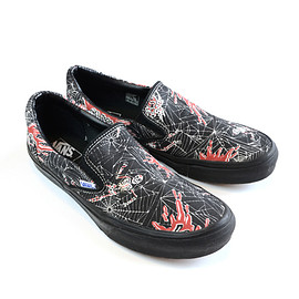 Vans - Slip On Red Spider