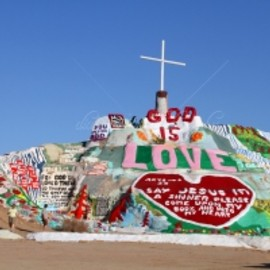 Niland, Imperial County, California - Salvation Mountain