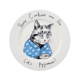 'Sleeping Cat' Serving Plate