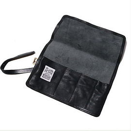 THE SUPERIOR LABOR - leather roll pen case