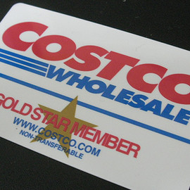 Costco - GOLDSTAR MEMBERS CARD