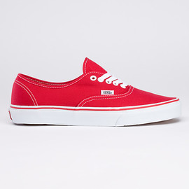 VANS - Canvas Authentic Red