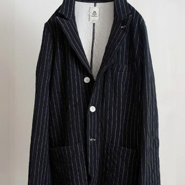mando - stitch stripe tailored jacket