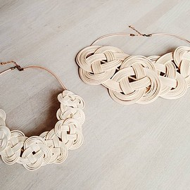 matohu - 2015S/S Japanese necklace