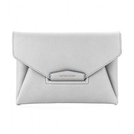 GIVENCHY - Antigona leather envelope clutch