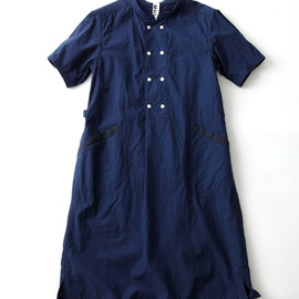 MHL. - INDIGO SHIRTING