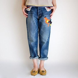 marble sud / rhythm - ORANGE BIRD JEANS