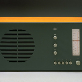 BRAUN - SuperHet VHF and medium wave radio, Braun, 1961 designed by Dieter Rams and Hans Gugelot