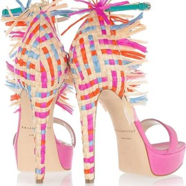 Brian Atwood - pink