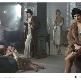 LOUIS VUITTON - FALL 2013 CAMPAIGN Photographed by Steven Meisel