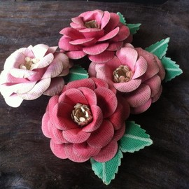Luulla - Handmade Paper Roses - Bubblegum Dreams Collection