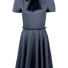 RED VALENTINO - PLEATED DRESS