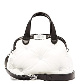 Maison Margiela - Glam Slam quilted bowling bag