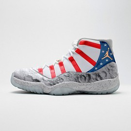 "Nike - AIR JORDAN 11 USA ""MOONLANDING"""