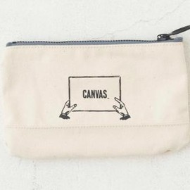 """ CANVAS "" - CANVAS ARMY  Pouch "" L ""  OATMEAL"