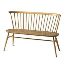 Ercol Loveseat - An extension of the traditional Windsor chair-making skills
