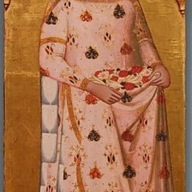 Saint Elizabeth of Hungary ca. 1365 @DH