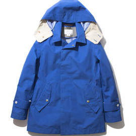 nanamica - GORE-TEX® Short Soutien Collar Coat