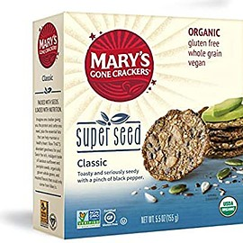 Mary's - Mary's Gone Crackers Super Seed Classic Crackers, 5.5 oz
