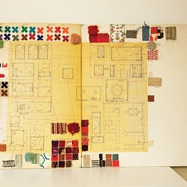 'textile master plan for the miller house • alexander girard •'