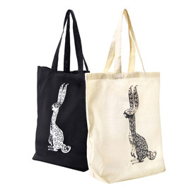 "MEDICOM TOY, Sync. - SIMPLE TOTE BAG ""WONDER THREE"" RABBIT"