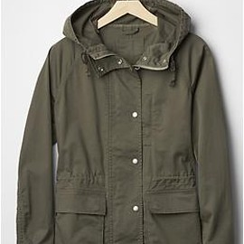 GAP - Utility hooded jacket